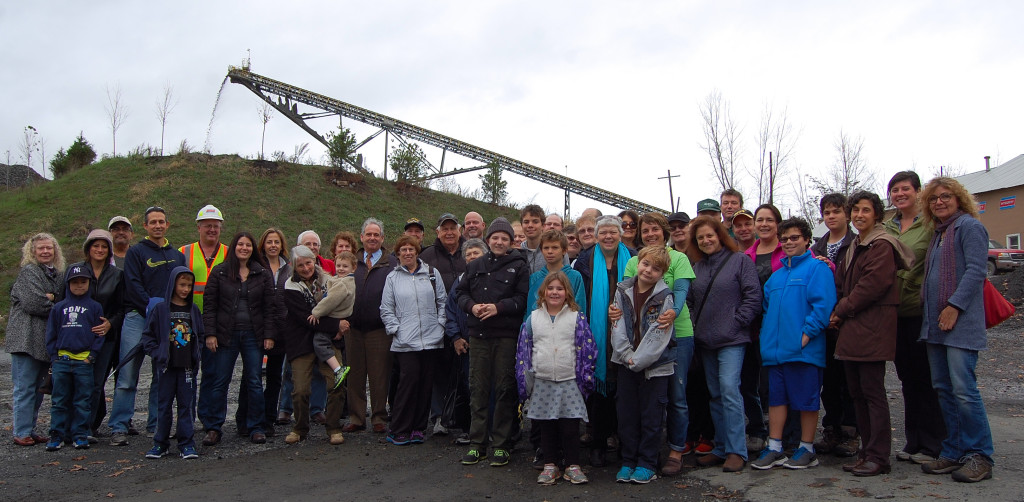 20151111 krb members tour of west nayck quarry 2